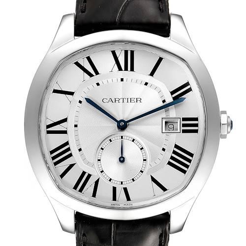 Photo of Cartier Drive de Cartier Silver Dial Steel Mens Watch WSNM0004
