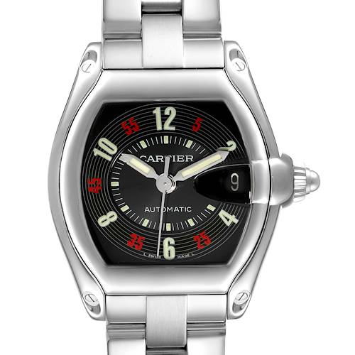 Photo of Cartier Roadster Vegas Roulette Red Green Steel Watch W62002V3