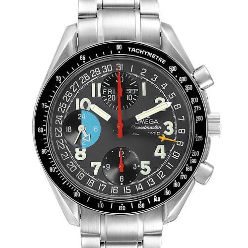 Photo of Omega Speedmaster Mark 40 Triple Calendar Mens Watch 3520.53.00 Card