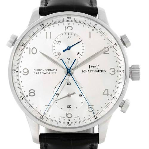 Photo of IWC Portuguese Chrono Rattrapante Platinum Limited 250 Watch IW371205