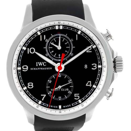 Photo of IWC Portuguese Yacht Club Chronograph Mens Watch IW390210 Box Papers