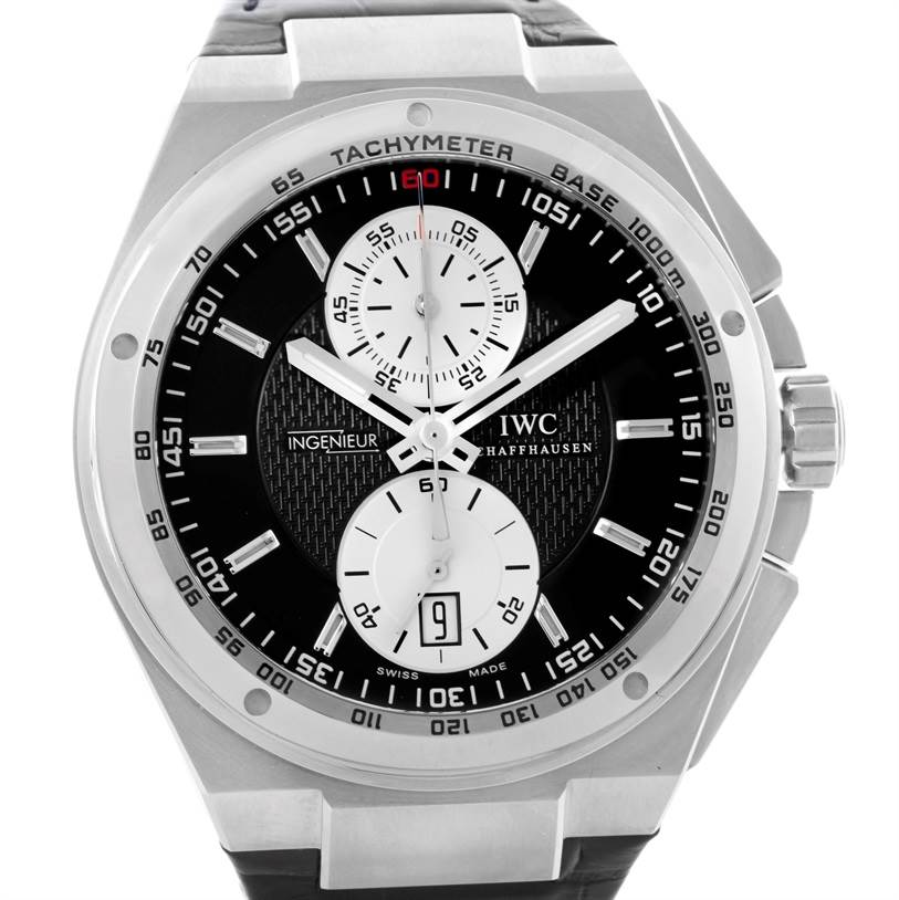 10388 IWC Big Ingenieur Chronograph Automatic Mens Watch IW378401 Unworn SwissWatchExpo