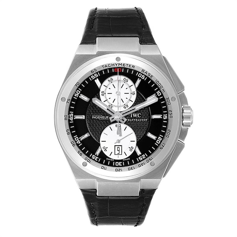 IWC Big Ingenieur Chronograph Automatic Mens Watch IW378401 Unworn SwissWatchExpo