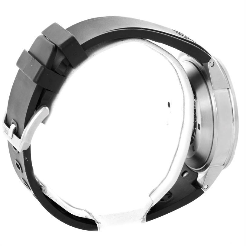 9854 IWC Aquatimer Black Dial Rubber Strap Mens Watch IW354807 SwissWatchExpo