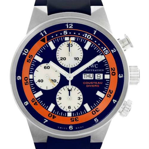 Photo of IWC Aquatimer Cousteau Divers Limited Edition Watch IW378101