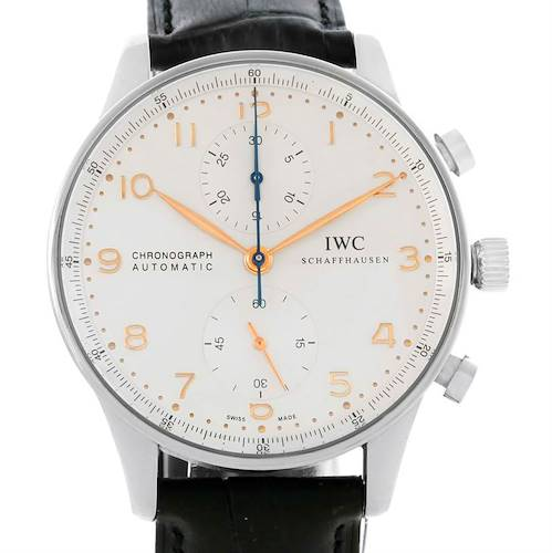 Photo of IWC Portuguese Chrono Automatic Stainless Steel Mens Watch IW371401