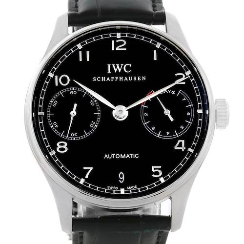 Photo of IWC Portuguese Chrono 7 day Power Reserve Automatic Watch IW500109