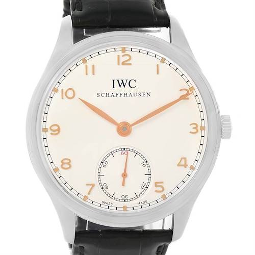 Photo of IWC Portuguese Chrono Manual Stainless Steel Mens Watch IW545408