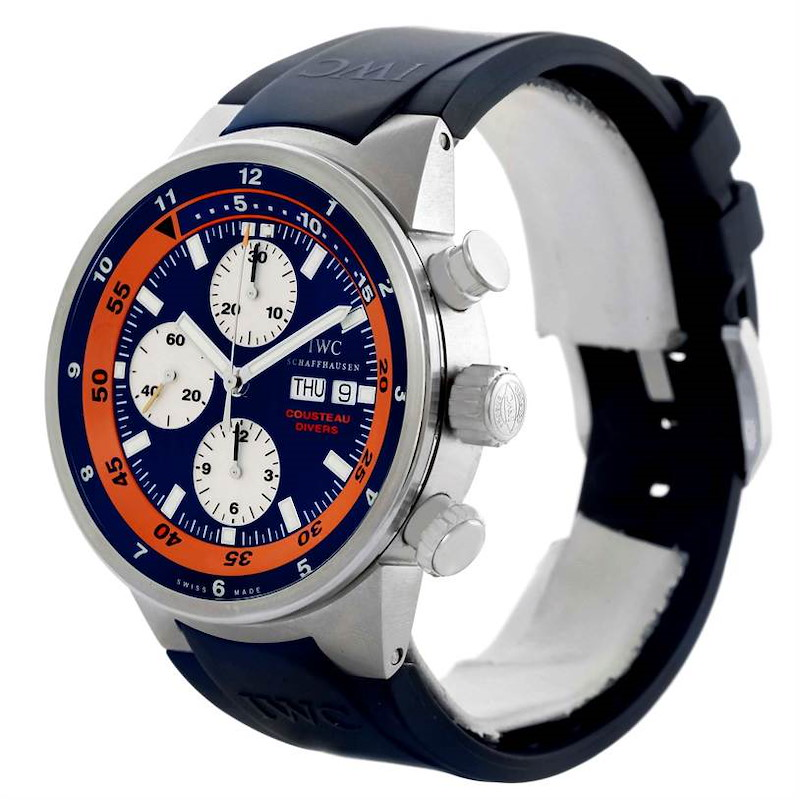IWC Aquatimer Cousteau Divers Limited Edition Watch IW378101 SwissWatchExpo
