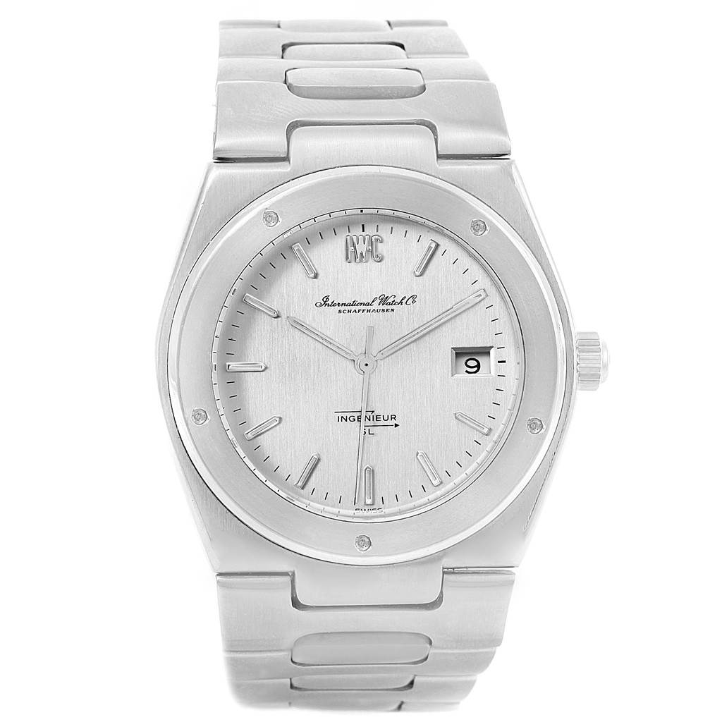 14722 IWC Ingenieur SL Automatic Jumbo Anti-magnetic Vintage Mens Watch 1832 SwissWatchExpo