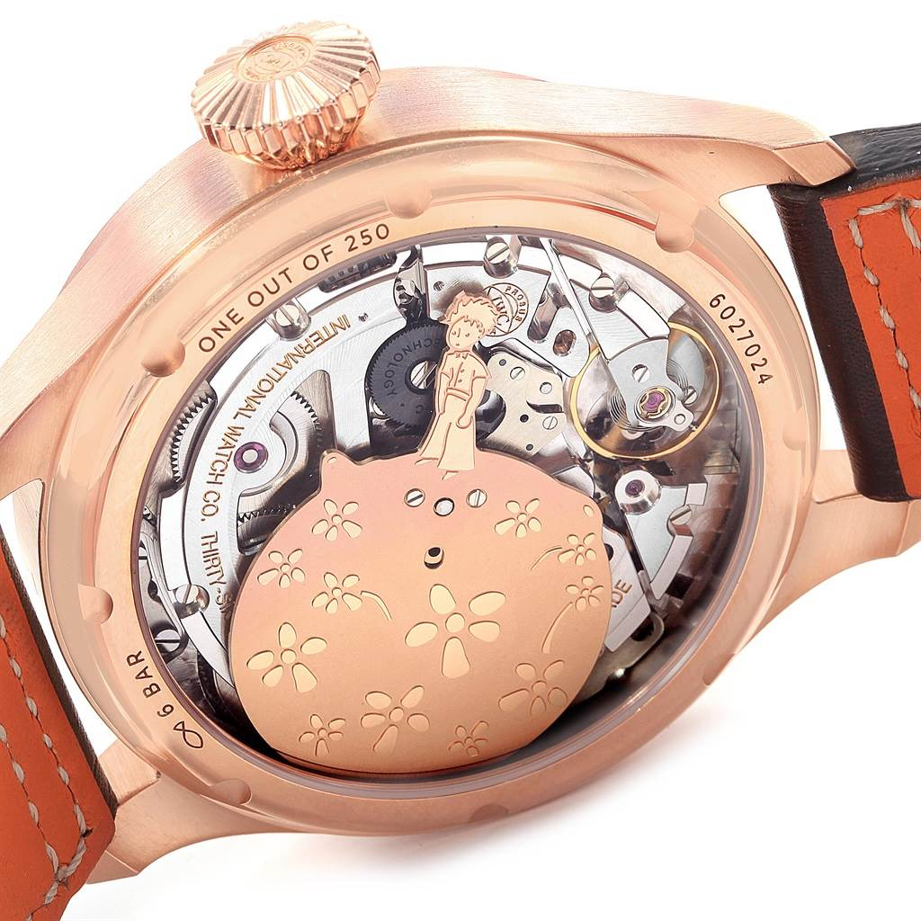 19413 IWC Le Petit Prince Annual Calendar LE 250 Watch IW502701 Box Papers SwissWatchExpo
