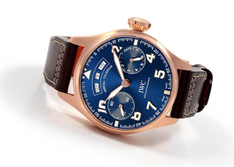 IWC Le Petit Prince Annual Calendar LE 250 Watch IW502701 Box Papers SwissWatchExpo