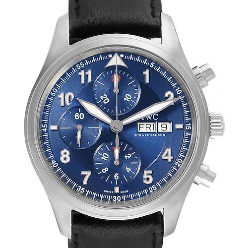 Photo of IWC Pilots Chronograph Laureus Sport Limited Edition Mens Watch IW371712