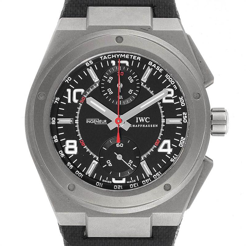 IWC Ingenieur AMG Titanium Black Dial Automatic Mens Watch IW372504 SwissWatchExpo