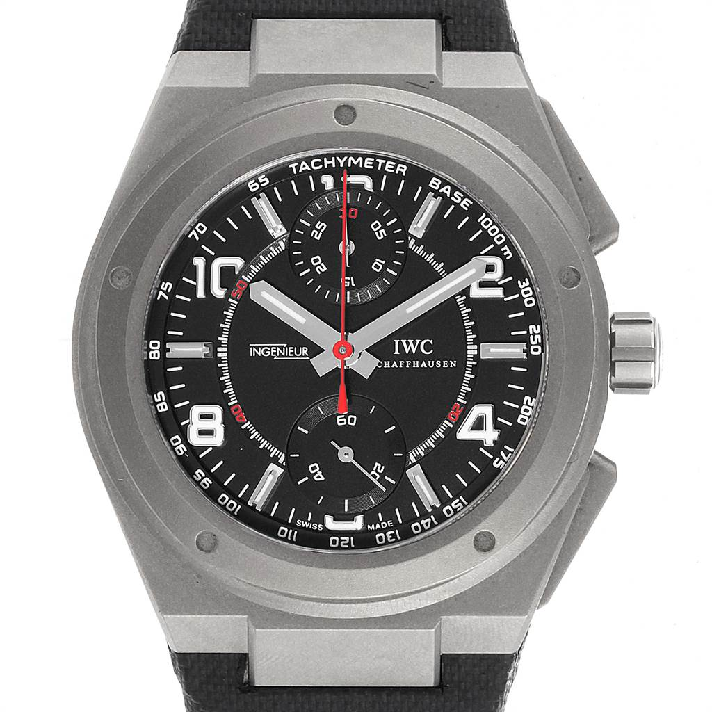 IWC Ingenieur AMG Titanium Black Dial Automatic Mens Watch IW372504 SwissWatchExpo