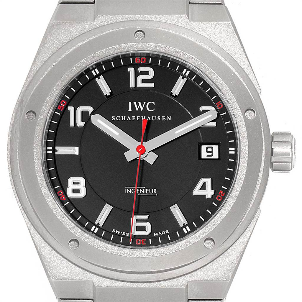 Photo of IWC Ingenieur AMG Titanium Black Dial Automatic Mens Watch IW322702
