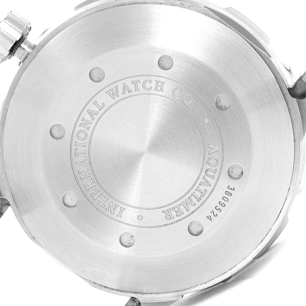IWC Aquatimer 2000 Automatic Steel Mens Watch IW356801 Box Card SwissWatchExpo