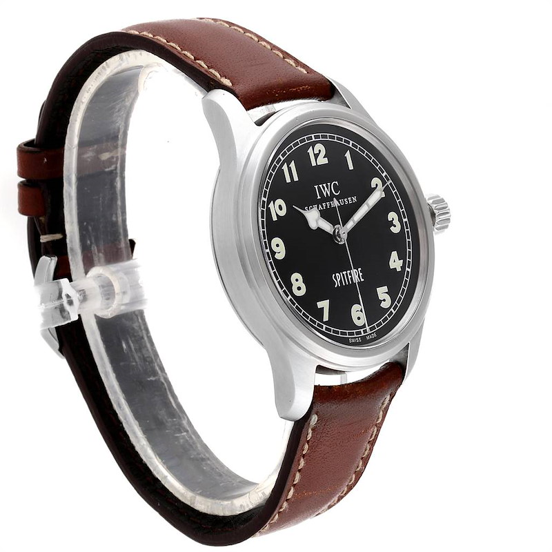 IWC Mark XV Spitfire Black Dial Limited Edition Mens Watch IW3253005 SwissWatchExpo
