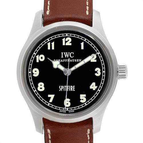 Photo of IWC Mark XV Spitfire Black Dial Limited Edition Mens Watch IW3253005