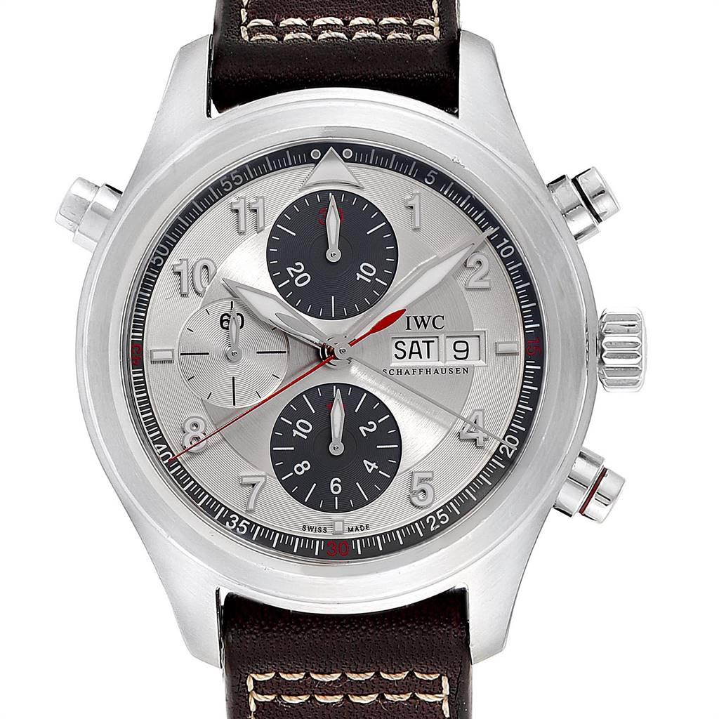Photo of IWC Spitfire Double Chronograph Rattrapante Automatic Watch IW371806