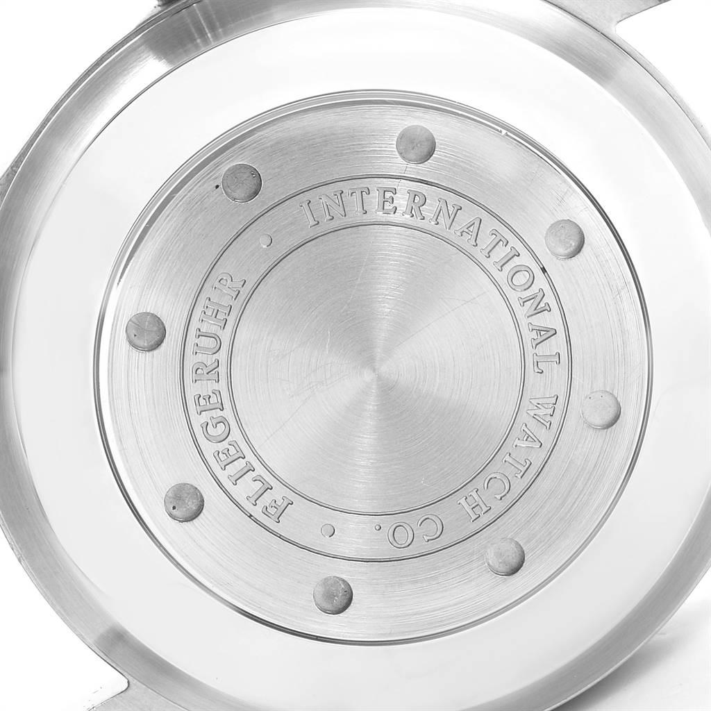 13211 IWC Big Pilots 46mm Black Dial Automatic Steel Mens Watch IW500401 SwissWatchExpo