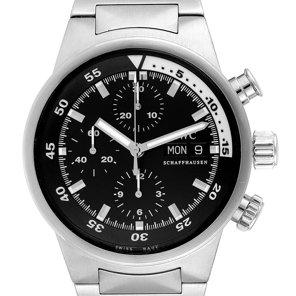 Photo of IWC Aquatimer Automatic Chronograph Day Date Mens Watch IW371928