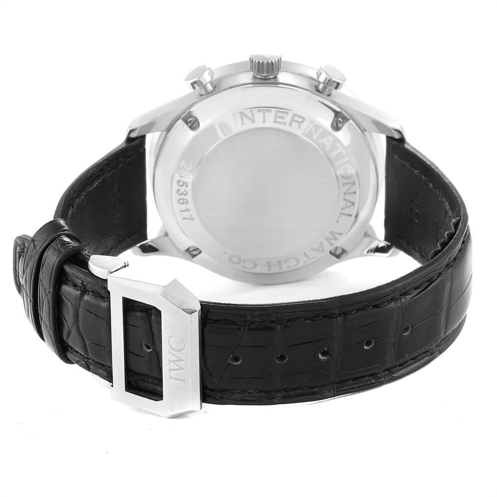 IWC Portuguese Chrono Automatic Steel Mens Watch IW371404 SwissWatchExpo