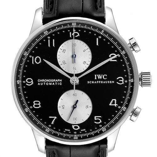 IWC Portuguese Chrono Automatic Steel Mens Watch IW371404