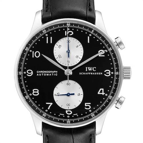 Photo of IWC Portuguese Chrono Automatic Steel Mens Watch IW371404