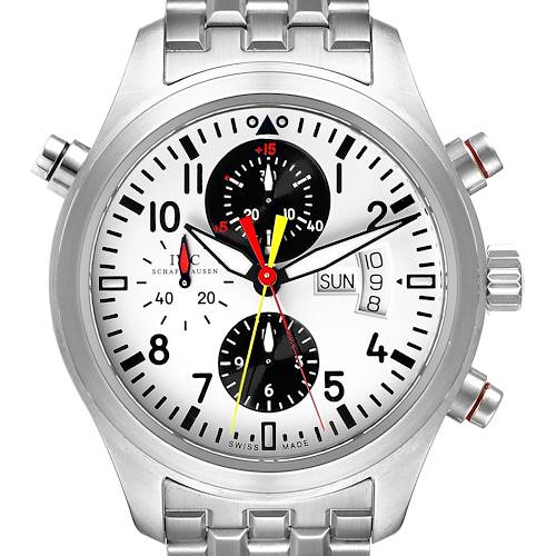 Photo of IWC Spitfire Rattrapante Panda Dial Limited Watch IW371803