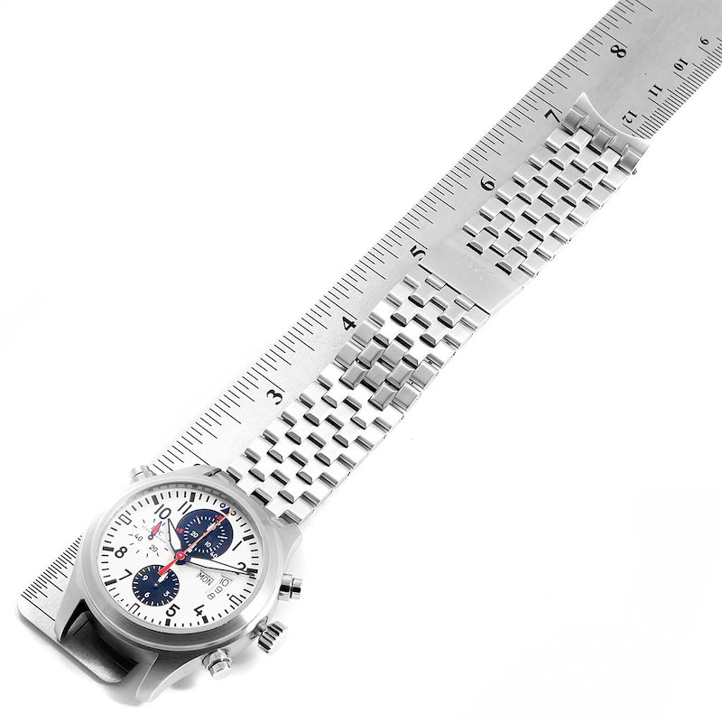 IWC Spitfire Rattrapante Panda Dial Limited Watch IW371803 SwissWatchExpo