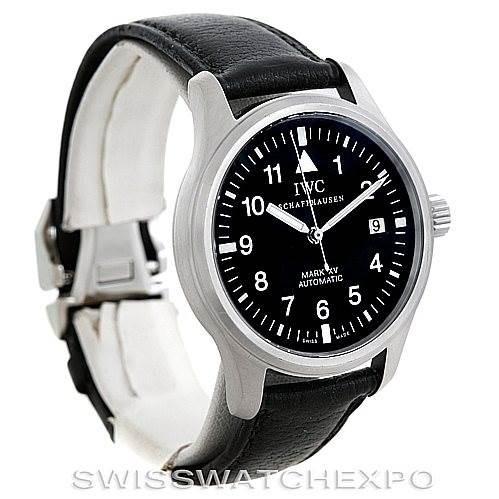 IWC Mark XV Steel Automatic Mens Watch IW325301 SwissWatchExpo