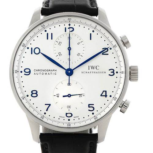 Photo of IWC Portuguese Chrono Automatic Steel Mens Watch IW371446