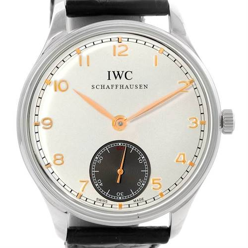 Photo of IWC Portuguese Chrono Manual Stainless Steel Mens Watch IW545405