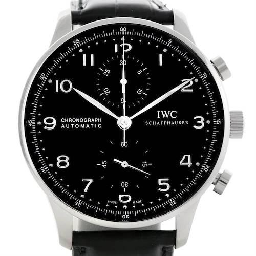 Photo of IWC Portuguese Chrono Automatic Mens Watch IW371447 Unworn