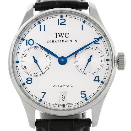 Photo of IWC Portuguese Chrono 7 day Power Reserve Automatic Watch IW500107