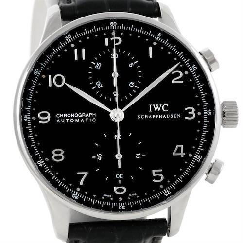 Photo of IWC Portuguese Chrono Automatic Steel Mens Watch IW371438