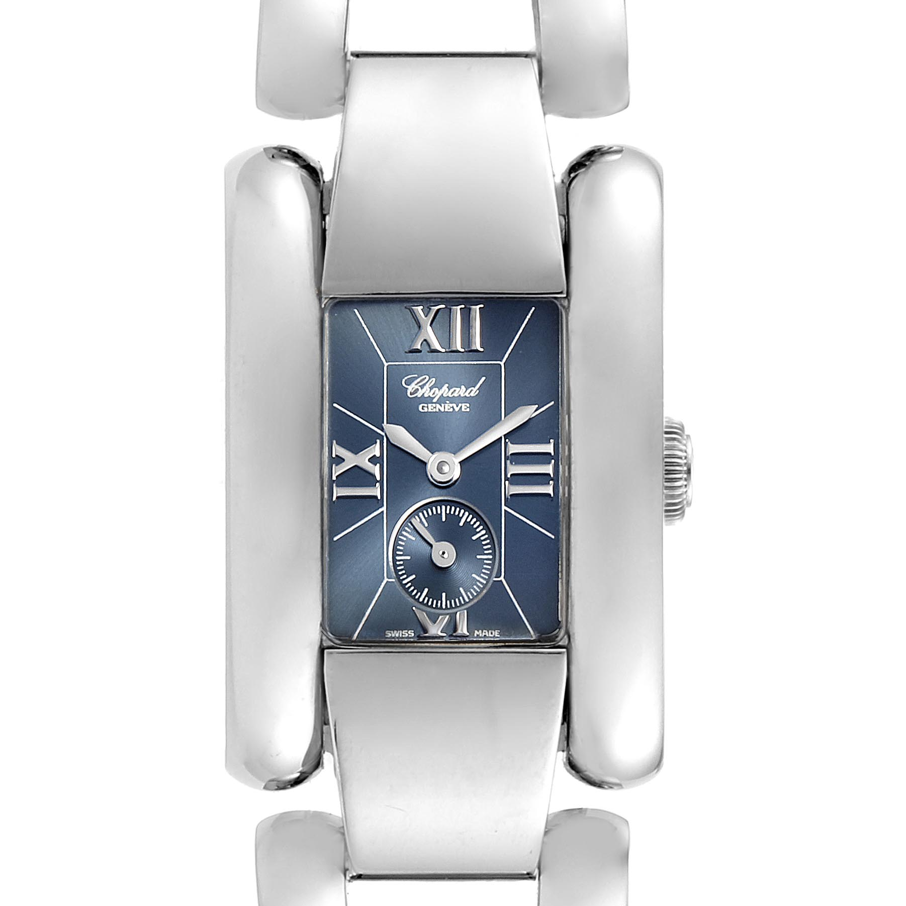 Chopard La Strada Stainless Steel Womens Watch 41-8380 SwissWatchExpo