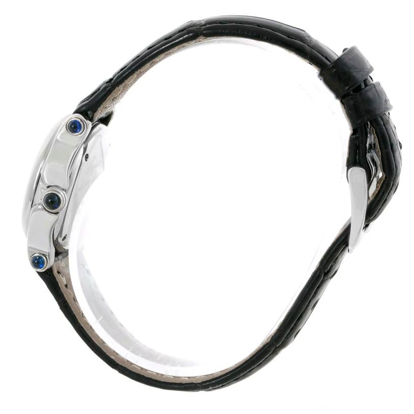 10094 Chopard Happy Sport White Dial Floating Diamond Watch 27/8245-23 SwissWatchExpo