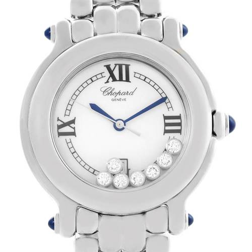Photo of Chopard Happy Sport White Dial Floating Diamond Watch 278236-3005