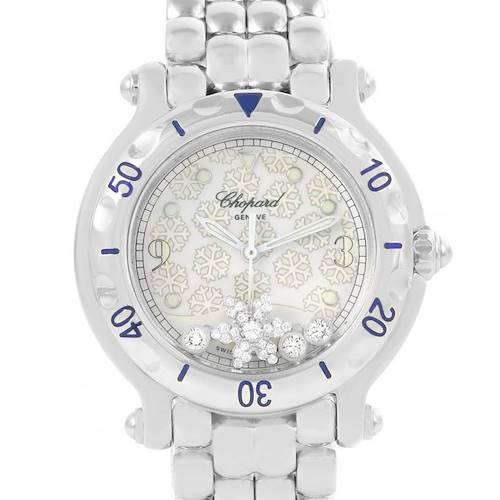 Photo of Chopard Happy Sport Snowflake Floating Diamonds Watch 27/8949