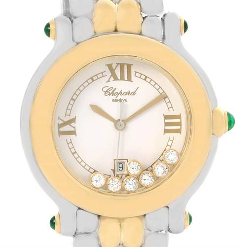 Photo of Chopard Happy Sport Floating Diamond Gold and Steel Watch 27/8276-22