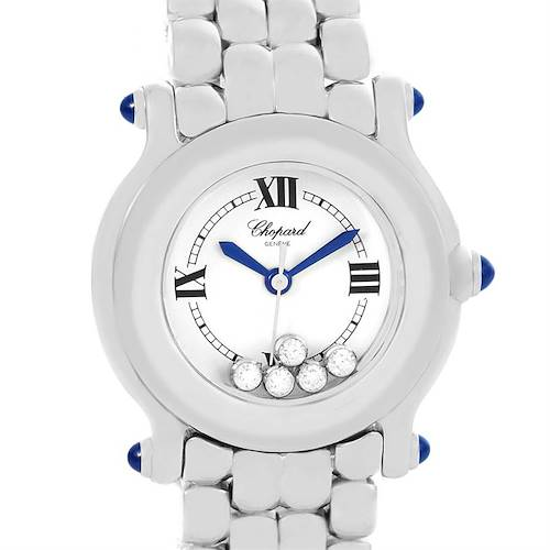 Photo of Chopard Happy Sport 5 Floating Diamonds Steel Ladies Watch 27-8250