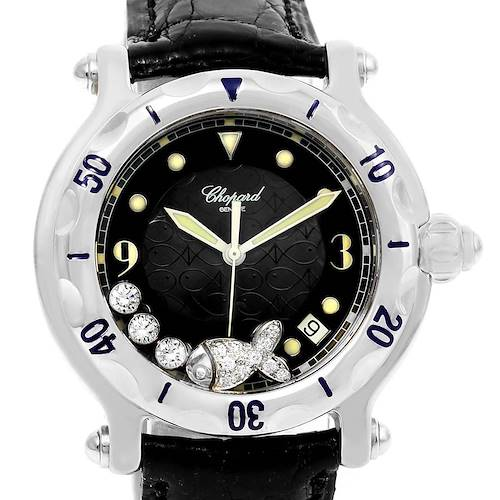 Photo of Chopard Happy Beach Floating Diamond Fish Ladies Watch 288347