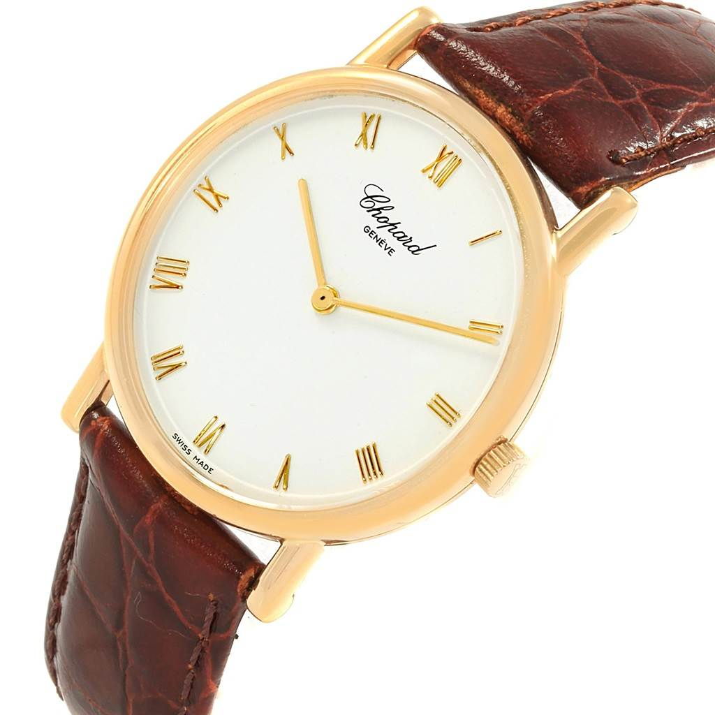 18231 Chopard Classique 18K Yellow Gold Mechanical Mens Watch 16/3154 SwissWatchExpo