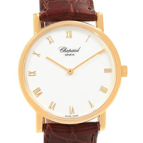 Chopard Classique 18K Yellow Gold Mechanical Mens Watch 16/3154
