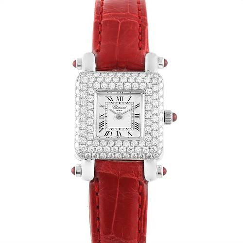 Photo of Chopard Happy Sport 18K White Gold Diamond Ladies Watch 419-1