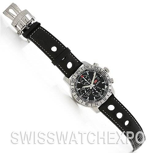 2567 Chopard Mille Miglia Gmt Steel Watch 168992-3001 SwissWatchExpo