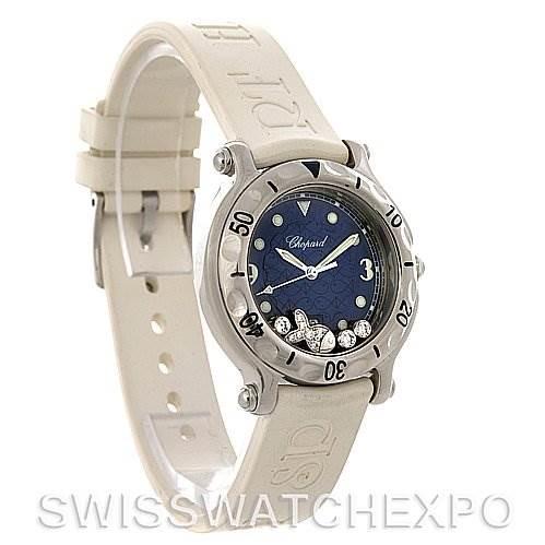 Chopard Happy Sport Rubber Strap 278923-3001 Watch SwissWatchExpo