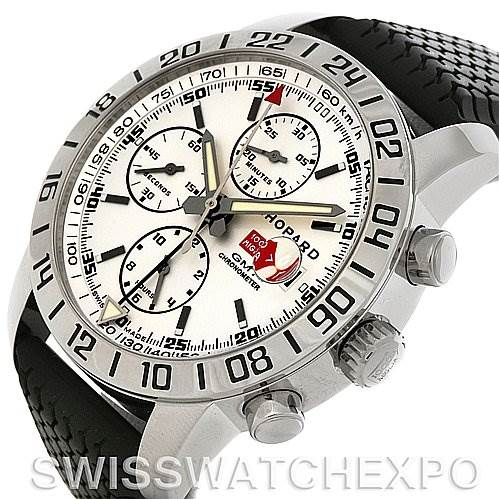 4176 Chopard Mille Miglia GMT Mens Watch 168992-3003 SwissWatchExpo